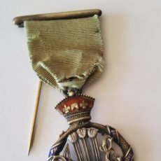 Militaria: MEDALLA VICTORIANA MASONICA PLATA.ROYAL MASONIC INSTITUTE FOR BOYS DE REINO UNIDO DE 1898.. Lote 214113886