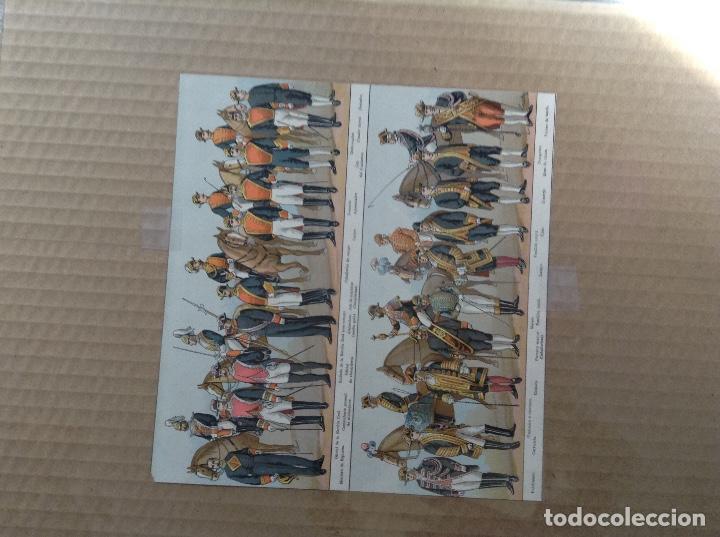 Militaria: Lote 5 laminas de uniformes internacionales China, Brasil, España, Colombia - Foto 6 - 214167387