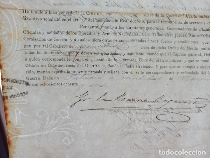 Militaria: Concesión Orden del Mérito Militar. Ver más artículos de éste militar - Foto 5 - 214234578