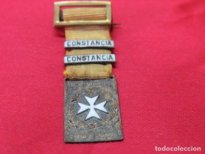 MEDALLA CONSTANCIA DAMAS AUXILIARES SANIDAD MILITAR. ORIGINAL (Militar - Medallas Españolas Originales )