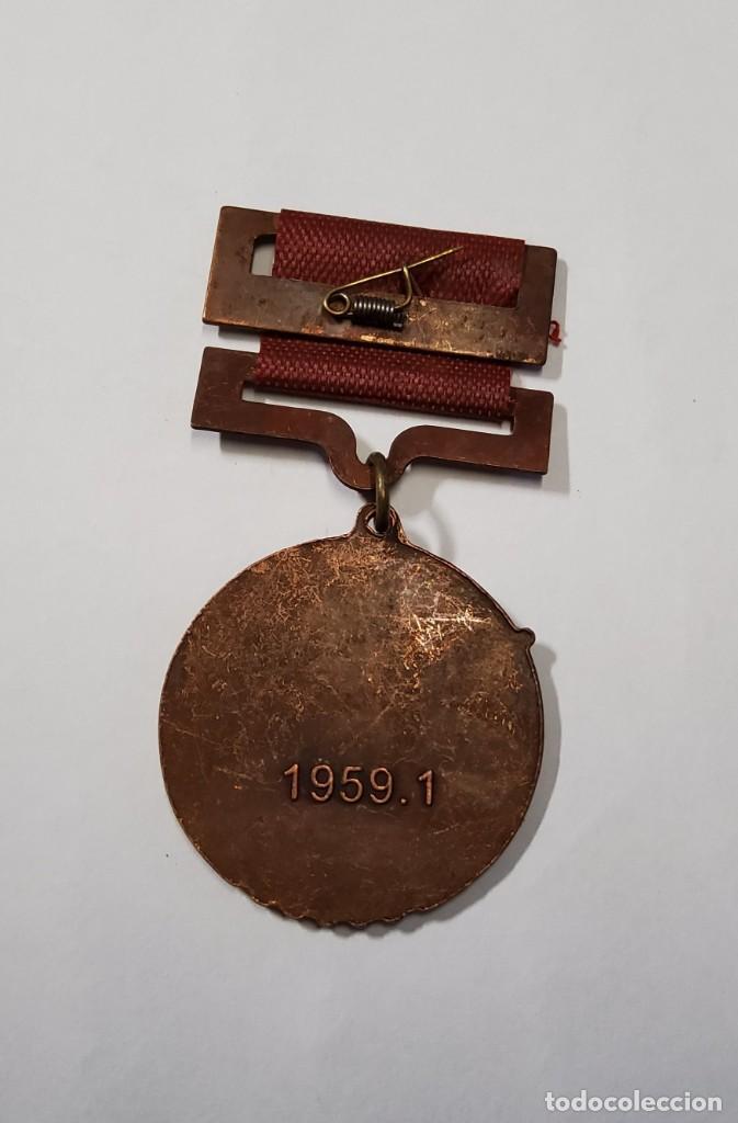 Militaria: Medalla al MERITO del PARTIDO COMUNISTA de CHINA DE 1959 EXTRAORDINARIO ESTADO. - Foto 2 - 214495303