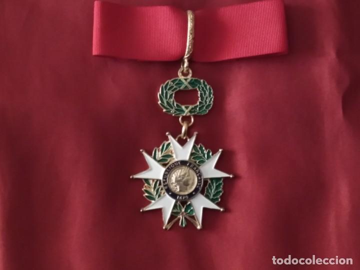 MEDALLA LEGIÓN DE HONOR DE FRANCIA (RÉPLICA) (Militar - Reproducciones y Réplicas de Medallas )