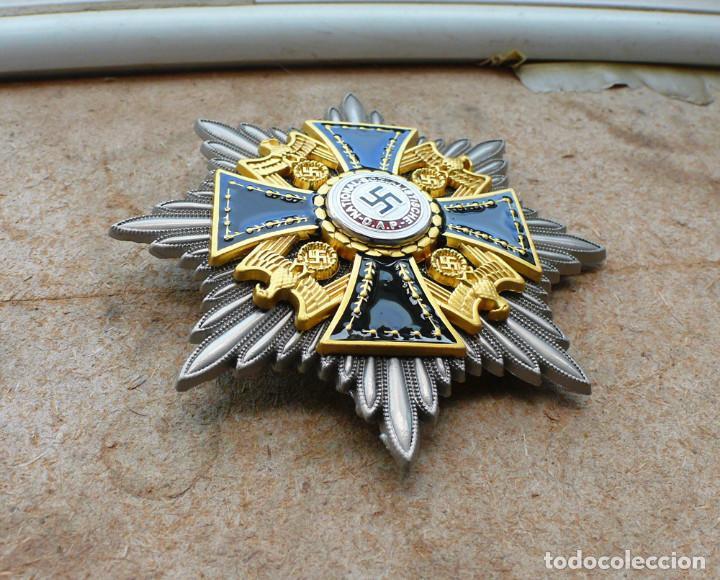 Militaria: Estrella de la Gran Cruz de la Orden Alemana del NSDAP. - Foto 2 - 274816718