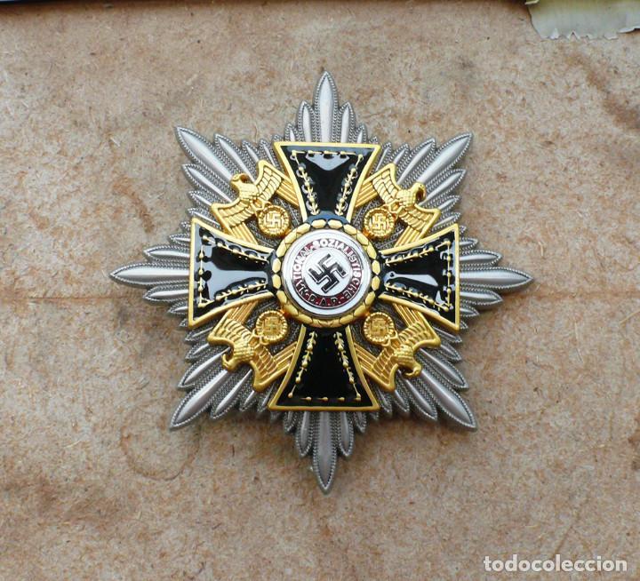 Militaria: Estrella de la Gran Cruz de la Orden Alemana del NSDAP. - Foto 6 - 274816718