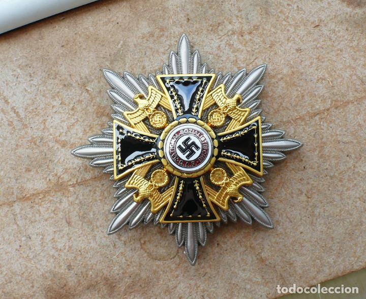 ESTRELLA DE LA GRAN CRUZ DE LA ORDEN ALEMANA DEL NSDAP. (Militar - Reproducciones y Réplicas de Medallas )