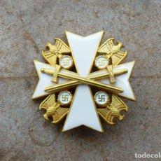Militaria: ORDEN DEL ÁGUILA ALEMANA CON ESPADAS.VERDIENSTORDEN VOM DEUTSCHEN ADLER. Lote 214548541