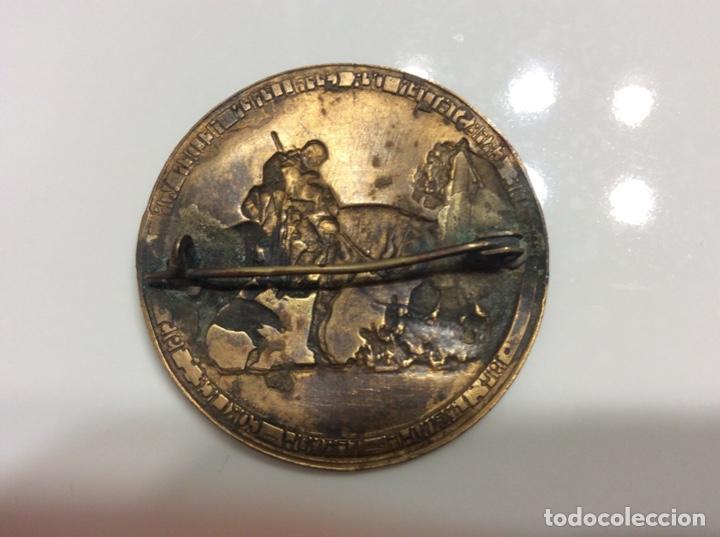 Militaria: Medalla de la Primera Guerra Mundial de bronce 1915 3,5cm de diámetro. - Foto 2 - 214649583