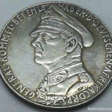 Militaria: RÉPLICA MEDALLA MARISCAL ERWIN ROMMEL. AFRIKA KORPS. BATALLA DE TOBRUK. 1941. II GUERRA MUNDIAL, ALE. Lote 214730621