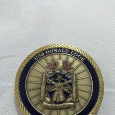 Militaria: USS DONALD COOK DDG 75 FEARLESS WARRIOR ROTA FDNF.. Lote 215163092