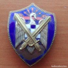 Militaria: INSIGNIA MILICIAS UNIVERSITARIAS SEU - FRENTE DE JUVENTUDES DE FALANGE ESPAÑOLA. Lote 215269768