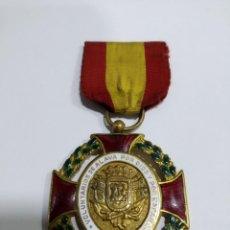 Militaria: MEDALLA VOLUNTARIOS DE ÁLAVA POR DIOS Y POR ESPAÑA JULIO 1936 -CONDECORACIÓN, CRUZ- GUERRA CIVIL. Lote 215565355