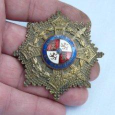 Militaria: PLACA CRUZ DE GUERRA - AL MERITO EN CAMPAÑA - MODELO 1942. Lote 215831613