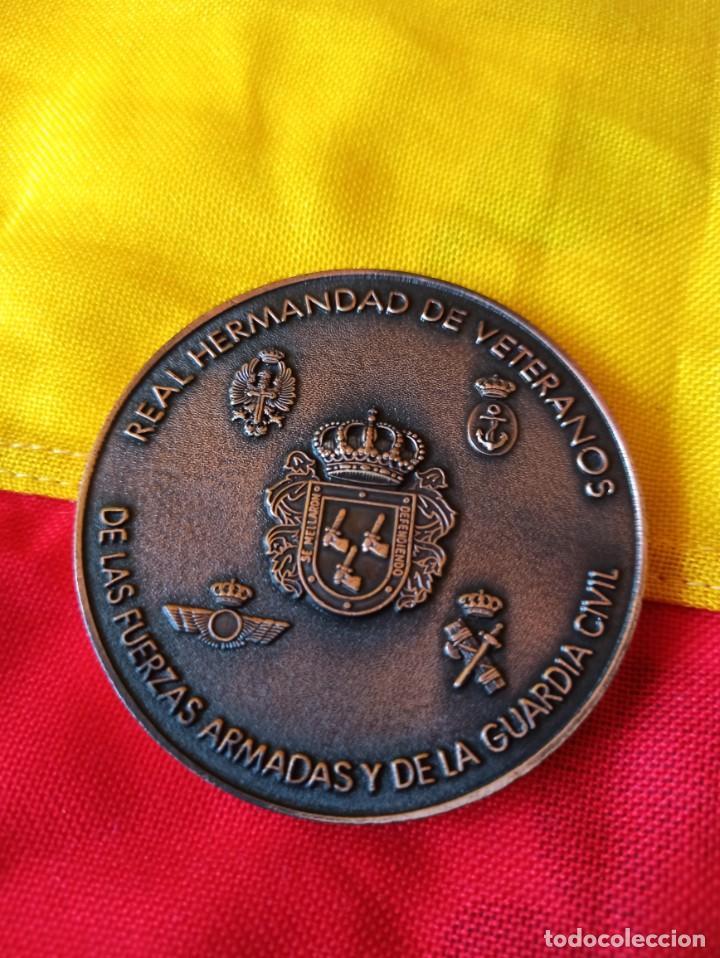 HERMANDAD DE VETERANOS DE LAS FUERZAS ARMADAS Y GUARDIA CIVIL (Militar - Medallas Españolas Originales )