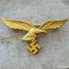 Militaria: SIGNO DE LA LUFTWAFFE EN EL COFRE AGUILA ORO.TERCER REICH. Lote 216851423