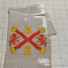 Militaria: CINTA MEDALLA ANTIGUA ( 6 X 6 CM LARGO Y 3 CM ANCHO). Lote 217229608