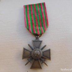 Militaria: FRANCIA CROIX DE GUERRE 1914 1915 WW1. Lote 217698501