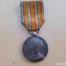 Militaria: FRANCIA MINISTERE INTERIEUR SAPEURS POMPIERS 1900 BOMBEROS PLATA. Lote 217698670