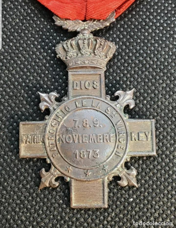BATALLA DE MONTEJURRA (Militar - Medallas Españolas Originales )