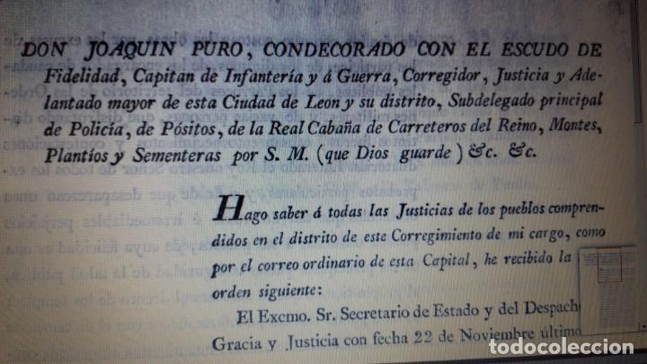 Militaria: CONCESIÓN ESCUDO FIDELIDAD AÑO 1824 FIRMA DEL REY FERNANDO VII - Foto 6 - 218435963