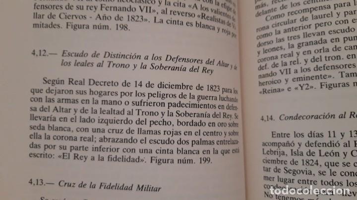 Militaria: CONCESIÓN ESCUDO FIDELIDAD AÑO 1824 FIRMA DEL REY FERNANDO VII - Foto 8 - 218435963