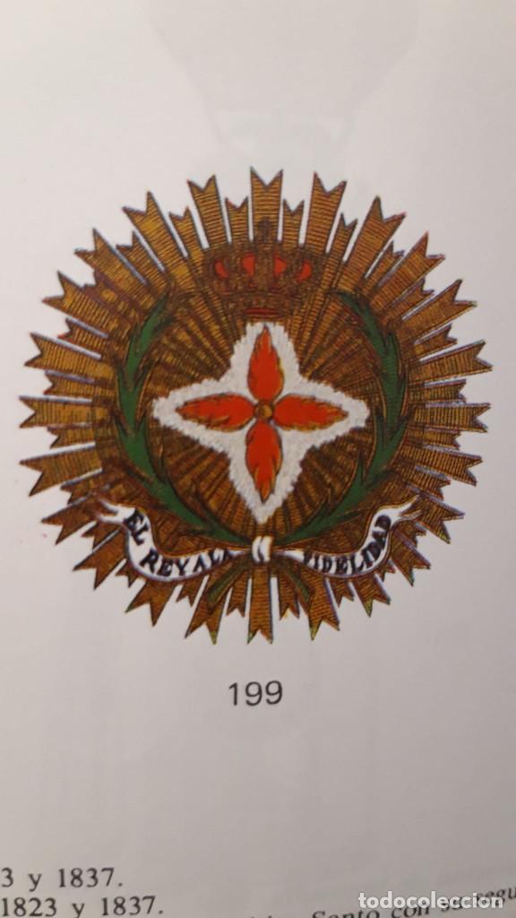 Militaria: CONCESIÓN ESCUDO FIDELIDAD AÑO 1824 FIRMA DEL REY FERNANDO VII - Foto 9 - 218435963