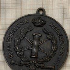 Militaria: MEDALLA DEPORTIVA PISTA DE APLICACIÓN RG. DE CABALLERIA ACORAZADO PAVIA N. 4 ARANJUEZ. Lote 218923897