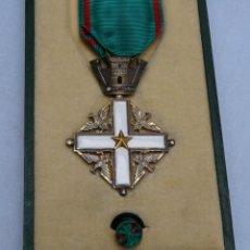 Militaria: MEDALLA ORDEN MERITO DE LA REPUBLICA ITALIANA CON ESTUCHE. Lote 218986970