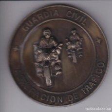 Militaria: MEDALLA DE LA GUARDIA CIVIL DE TRAFICO XXV ANIVERSARIO TAMAÑO 8CM DE DIAMETRO. Lote 266911184