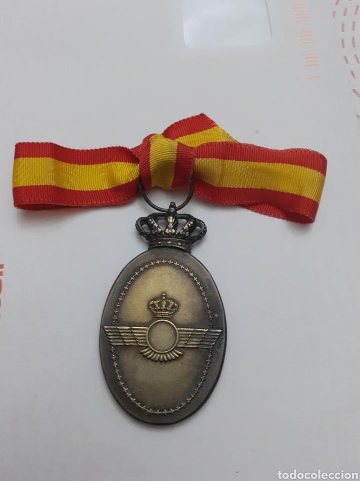 Militaria: *centauro* MEDALLA EJERCITO DEL AIRE ASOCIACION DAMAS VIRGEN DE LORETO AVIACION - Foto 2 - 219440916