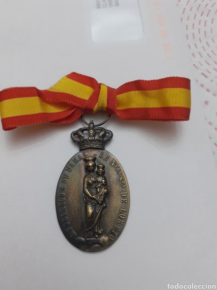 *CENTAURO* MEDALLA EJERCITO DEL AIRE ASOCIACION DAMAS VIRGEN DE LORETO AVIACION (Militar - Medallas Españolas Originales )
