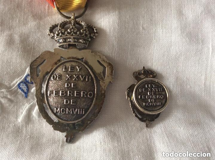 Militaria: Medalla del Instituto Nacional de Previsión. Plata. 1908. - Foto 4 - 219634985