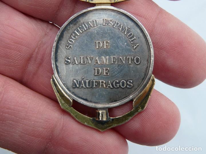 Militaria: MEDALLA SOCIEDAD ESPAÑOLA DE SALVAMENTO DE NÁUFRAGOS - 1887-1906 - Foto 10 - 220229716