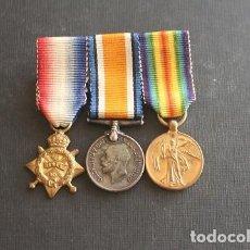 Militaria: PASADOR BRITANICO EN MINIATURA I GUERRA MUNDIAL. Lote 220755387