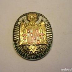 Militaria: RÉPLICA DE PLACA DE LA DIRECCIÓN GENERAL DE SEGURIDAD FRANQUISTA, PARA CARTERA.. Lote 221412731