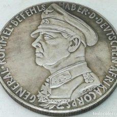 Militaria: RÉPLICA MEDALLA MARISCAL ERWIN ROMMEL. AFRIKA KORPS. BATALLA DE TOBRUK. 1941. II GUERRA MUNDIAL, ALE. Lote 221455000