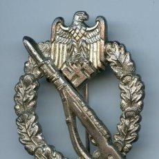 Militaria: PLACA DE INFANTERIA EN PLATA - WEHRMACHT / DIVISION AZUL. Lote 221621705