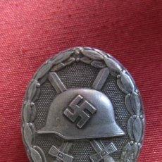 Militaria: MEDALLA ALEMANA DISTINTIVO INSIGNIA PLACA DE HERIDO CATEGORÍA PLATA II SEGUNDA GUERRA MUNDIAL. Lote 221706860