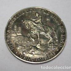Militaria: 454,,MEDALLA MILITAR D MEXICO MEJICO 1948. CENTENARIO HEROICA BATALLA DEL 5 DE MAYO DE 1862 - PUEBLA. Lote 222148515