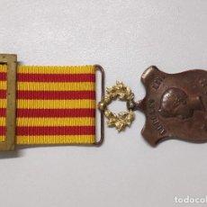 Militaria: MEDALLA ALFONSO XIII AL EJERCITO DE FILIPINAS 1896 1898 CASTELL. Lote 222223741