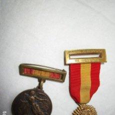 Militaria: MEDALLAS GUERRA CIVIL DAMAS AL SERVICIO DE ESPAÑA. ORIGINALES. VER FOTOS. Lote 222309161