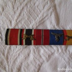 Militaria: PASADOR DE MEDALLAS DE DIARIO LUFTWAFFE LEGION CONDOR RUSIA CRUZ HIERRO. ORIGINAL. VER FOTOS. Lote 222373611