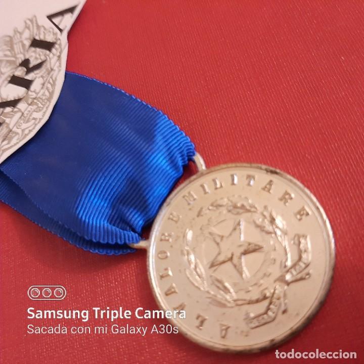MEDALLA AL VALOR ITALIANA (Militar - Medallas Extranjeras Originales)