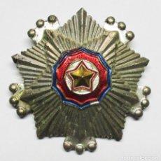 Militaria: COREA DEL NORTE. ORDEN DE LA BANDERA NACIONAL. SEGUNDA CLASE. LOTE 0144. Lote 222568896