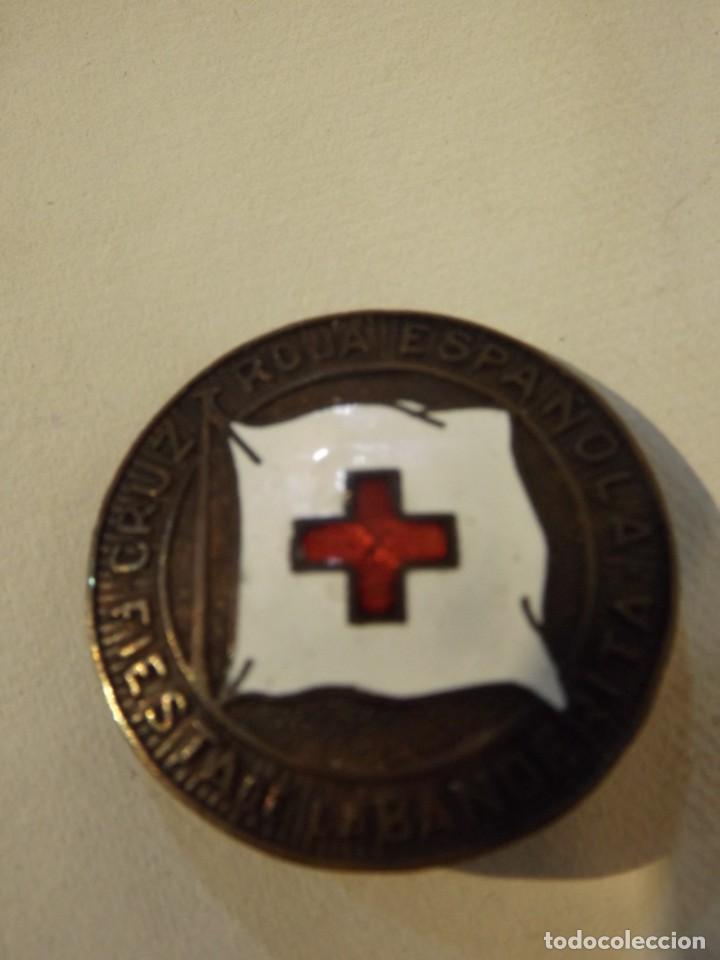 BROCHE ALFILER FIESTA DE LA CRUZ ROJA (Militar - Medallas Españolas Originales )