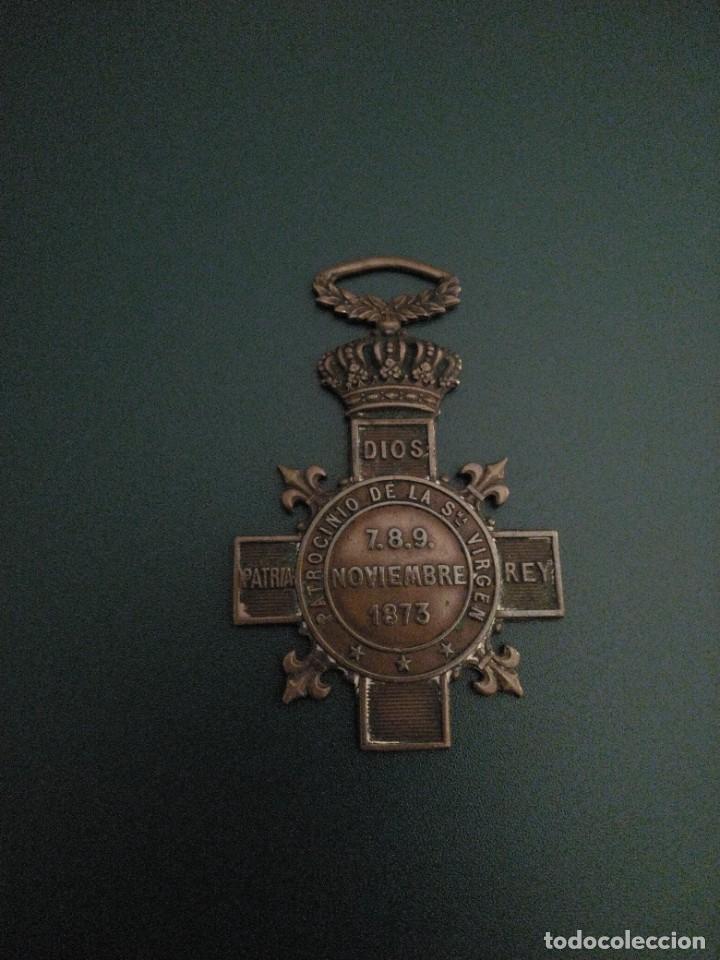 MEDALLA CARLISTA MONTEJURRA (Militar - Medallas Españolas Originales )
