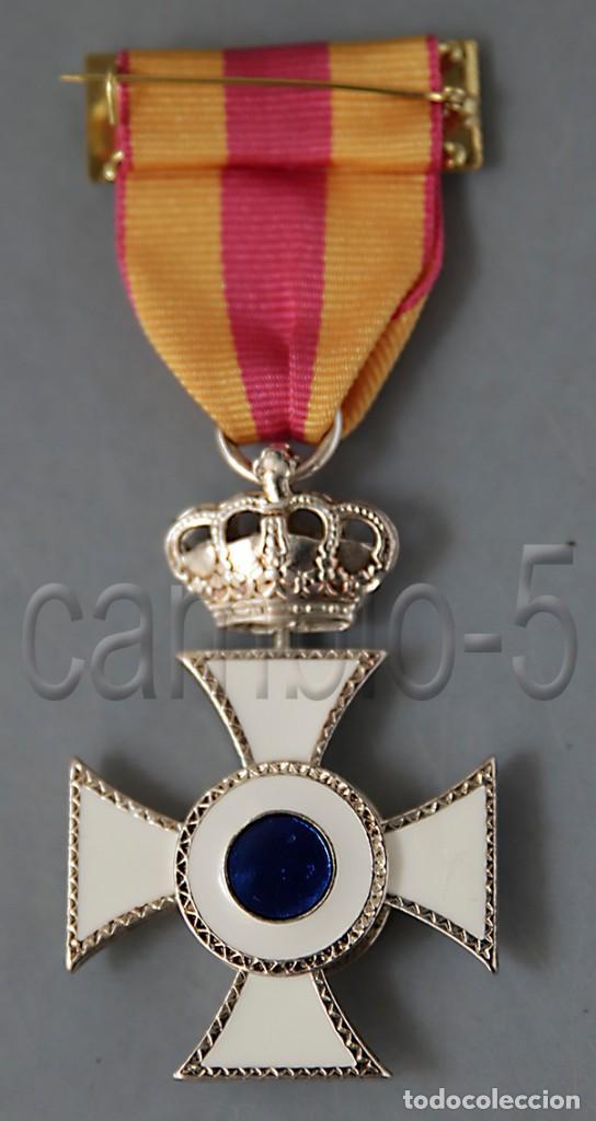 Militaria: PREMIO A LA CONSTANCIA EN EL SERVICIO - CATEGORÍA PLATA - - Foto 3 - 222710808