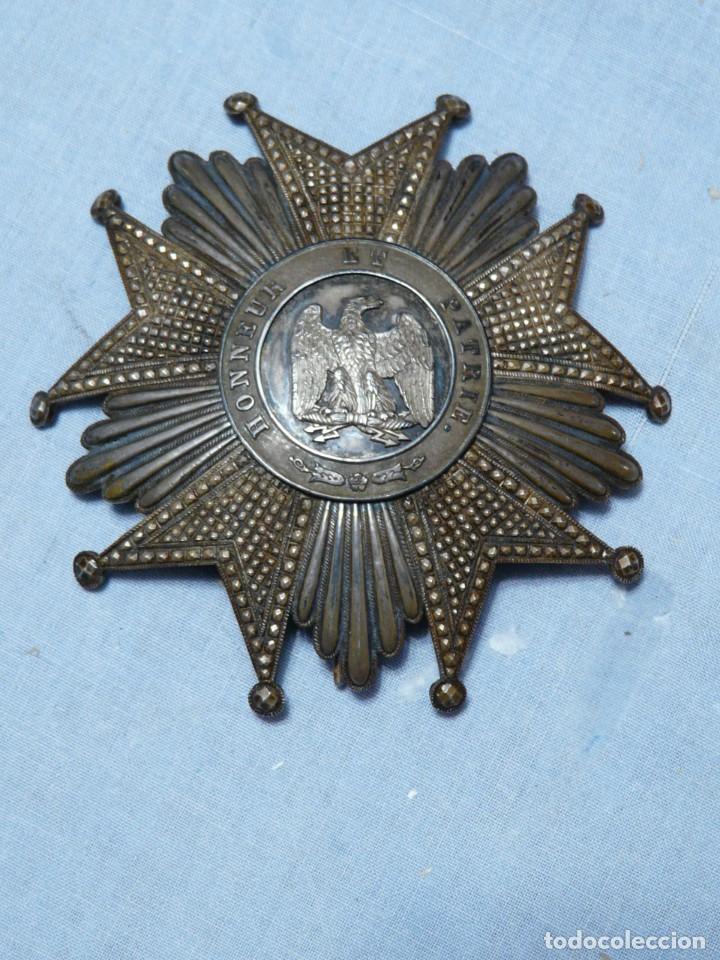 FRANCIA ORDEN GRAN CRUZ DE LA LEGION DE HONOR SEGUNDO IMPERIO (Militar - Medallas Internacionales Originales)