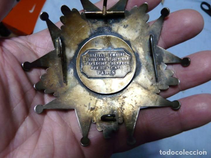 Militaria: FRANCIA ORDEN GRAN CRUZ DE LA LEGION DE HONOR SEGUNDO IMPERIO - Foto 5 - 222848885