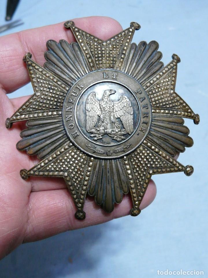 Militaria: FRANCIA ORDEN GRAN CRUZ DE LA LEGION DE HONOR SEGUNDO IMPERIO - Foto 10 - 222848885