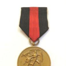 Militaria: MEDALLA 1 OCT.1938 (ANEXIÓN DE CHECOSLOVAQUIA), MEDALLA DE BRONCE, CON SU CINTA, TODO ORIGINAL.. Lote 222914471